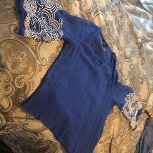 Alyx royal blue S shirt